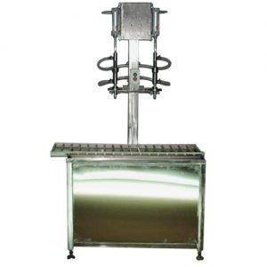 Полуавтоматическая машина для розлива жидкостей МРп-1.23