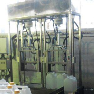 Полуавтоматическая машина для розлива технических жидкостей МРп-2.2.Д