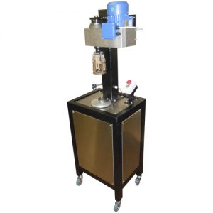 Полуавтоматическая машина для укупоривания алюминиевых колпачков МУп-3.28